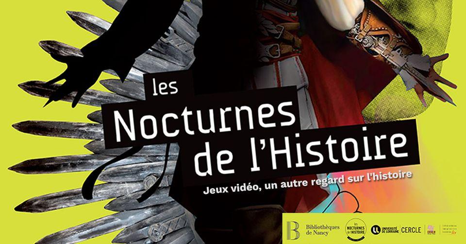 Le service Patrimoine des bibliothèques de Nancy organisent leurs premières  Nocturnes de l'histoire