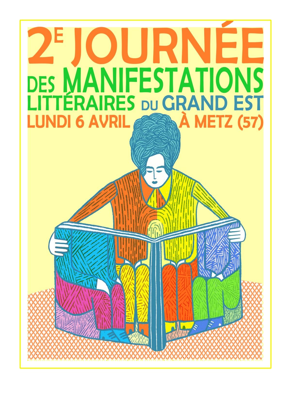 2e Journée des manifestations littéraires Grand Est
