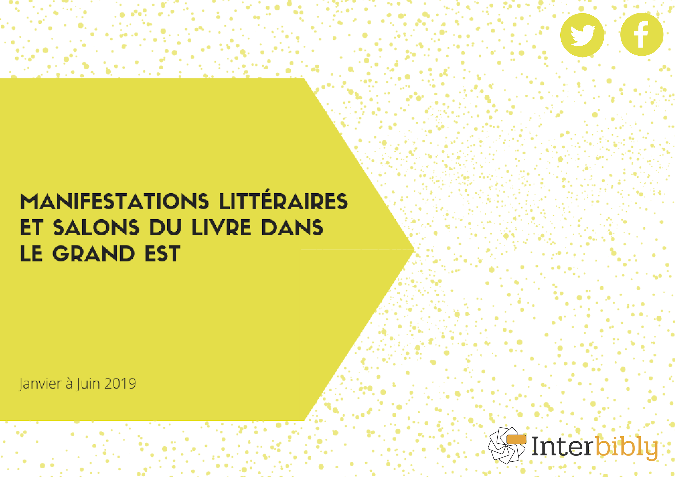 Agenda des manifestations littéraires 2019
