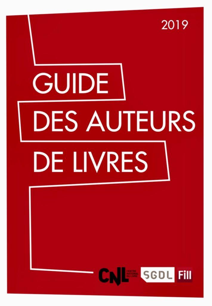 Sortie du guide des auteurs de livres 2019