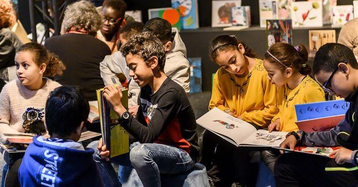 Participez au Salon du livre et de la presse jeunesse en Seine-Saint-Denis
