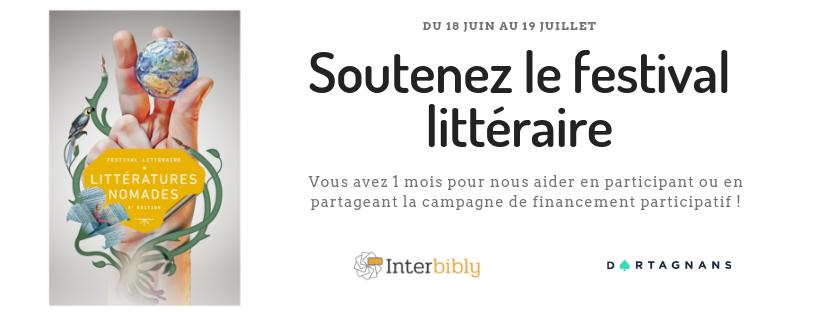 Soutenez la 5e édition du festival littéraire !