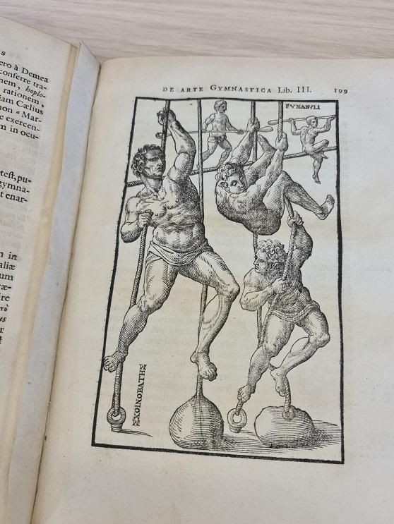 Le premier traité de gymnastique de l'histoire occidentale