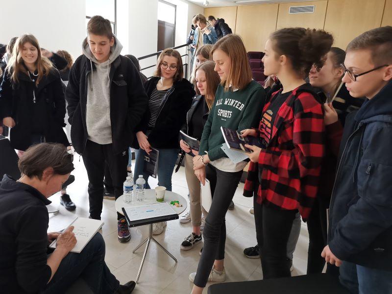 Rencontres d'auteurs en lycées Grand Est 2021