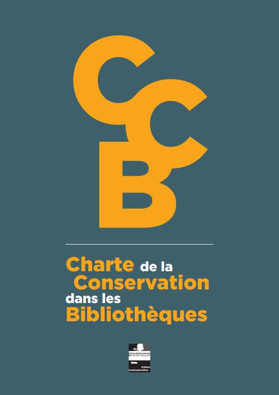 La Charte de la conservation dans les bibliothèques (2014)